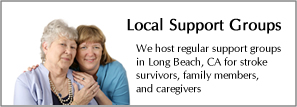 Local support stroke support groups
