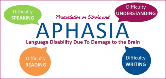 presentation on stroke and aphasia
