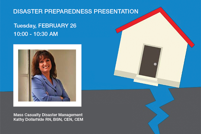 Disaster Preparedness Presentation in Long Beach