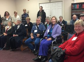 Stroke Support Association support group members in Long Beach