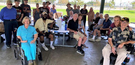 2021 Stroke Support Association picnic in Long Beach