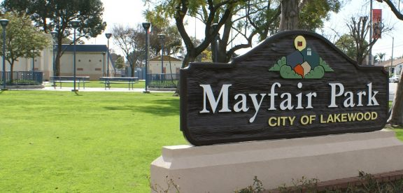 Mayfair Park in Lakewood