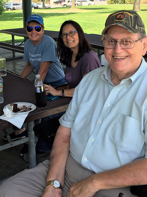 SSA members, family and caregivers attend 2019 annual picnic at Mae Bower Park in Lakewood CA