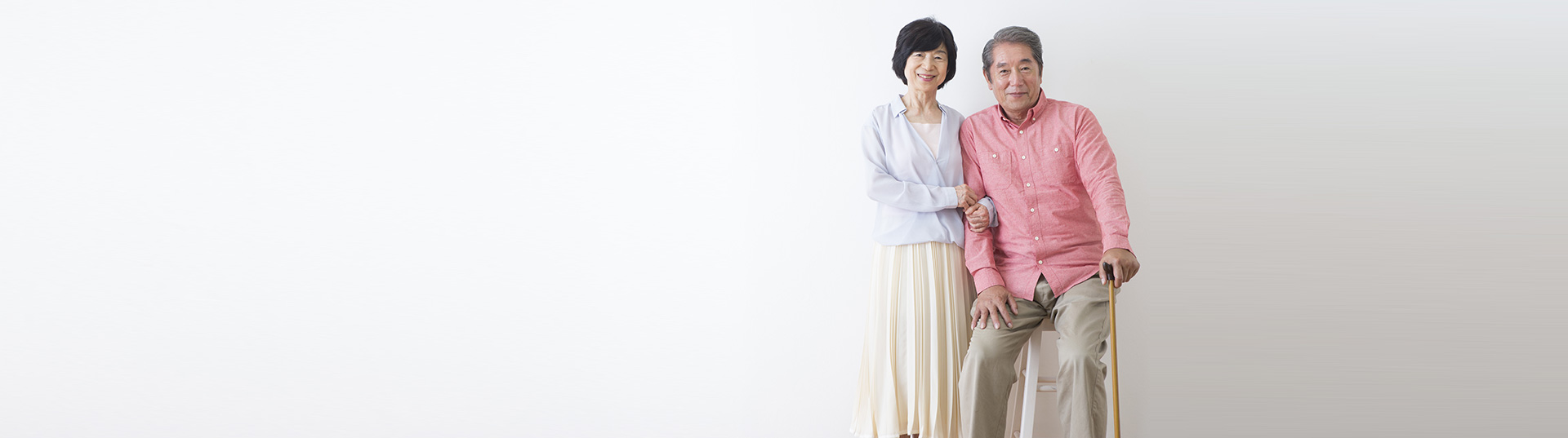 asian american couple cane