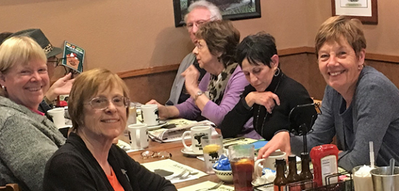 Stroke Support Assoc. End of Session Lunch Nov. 20, 2018